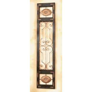 Decorative Wall Panel Vintage French Door Design Scroll