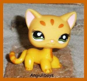 Littlest Pet Shop Exclusive CARAMEL KITTY CAT 1377