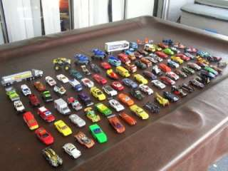 HUGE LOT HOT WHEELS MATCHBOX CARS MOTORCYCLES TRUCKS 80S 90S & EARLY