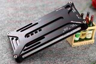 PR0433 Black Aluminium Bumper Metal Case Cover for Genuine Apple