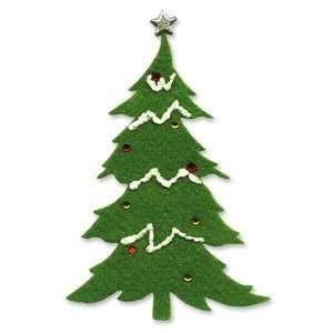Sizzix Originals Die Large Christmas Tree #2 Arts, Crafts