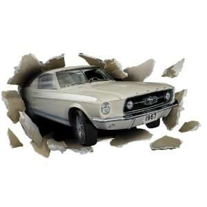 1967 Ford Mustang GT Fastback Through the Wall Wall