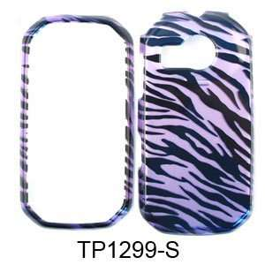 Pantech Crossover P8000 Purple Black 2D Design Snap on Case