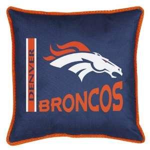 Denver Broncos Sports Coverage Sidelines Pillow