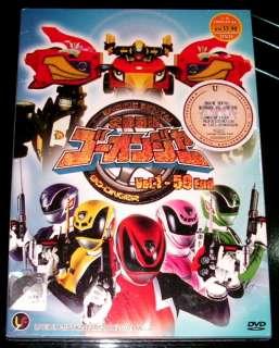 DVD Engine Sentai Go Onger Vol. 1   50 End