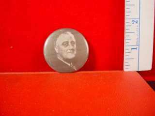 103 FRANKLIN D ROOSEVELT (1995) Vintage Pinback Button Pin