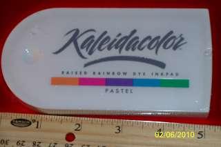 TSUKINEKO KALEIDACOLOR RAISED RAINBOW INK PAD 8 COLORS