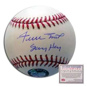 Signed Willie Mays Baseball   San Francisco Giants