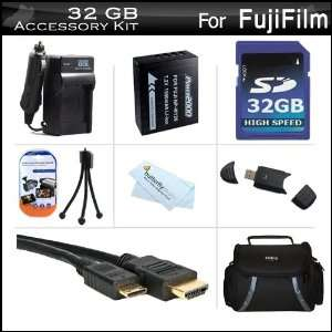 32GB Accessories Kit For Fuji Fujifilm X Pro 1, X Pro1