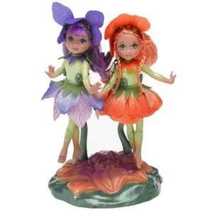 Barbie Fairytopia   5 Fairy Dolls   Omma & Organza Toys & Games