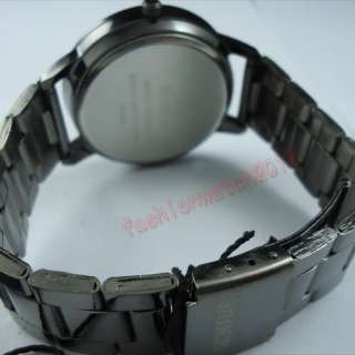 New Fashion style Lady Mens Stainless Steel Unisex Wrist