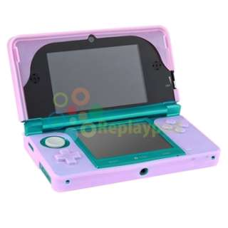 For Nintendo 3DS N3DS Premium Silicone Gel Case Pink Soft Cover Rubber