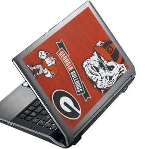 NCAA Georgia Bulldogs 8 x 10 Peel & Stick Laptop Art