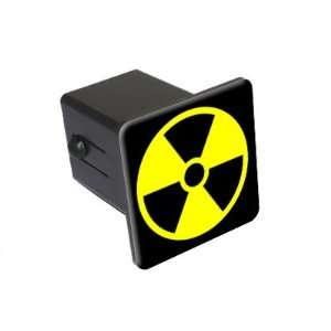 Radioactive Radiation Nuclear   2 Tow Trailer Hitch Cover