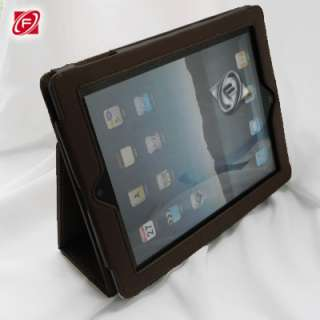 The New iPad 3rd Generation PU Leather Case Stand Multi Color