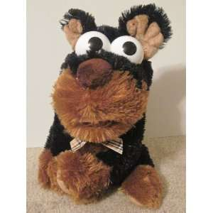 Plush Brown DOG Hand Puppet Bark Sound Big Eyes Toys & Games