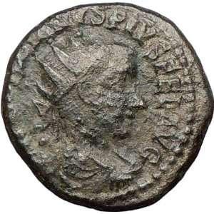 GORDIAN III 242AD Viminacium BULL & LION Legions Authentic