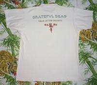 GRATEFUL DEAD Vintage Concert SHIRT 80s TOUR T RARE ORIGINAL 1988