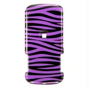 Icella FS NEXI856 D23 Purple Black Zebra Snap on Cover for