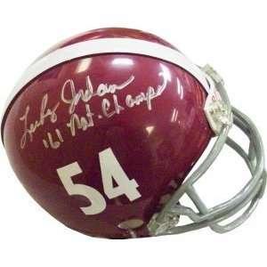 Lee Roy Jordan Autographed/Hand Signed Alabama Crimson