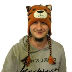 Knit Tiger Animal Hats Brand New Hat High Quality Polyester Acyrlic