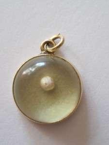 Vintage 14k Gold Mustard Seed Charm Matthew 1720