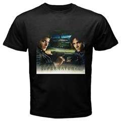 Supernatural TV Series SMLXL2XL3XL Black T Shirt Men