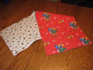 Handmade Table Runner Disney Winnie The Pooh Christmas