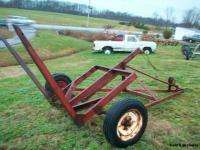 Pull Type Round Hay Bale Mover/Wagon/Carrier/Hauler/Trailer