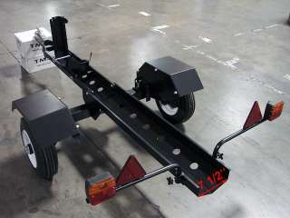 Motorcycle Folding Trailer Carrier Rail IN a Trunk Bag