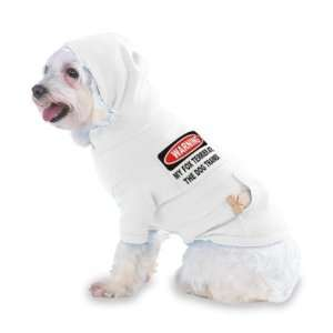 WARNING MY FOX TERRIER ATE THE DOG TRAINER Hooded (Hoody