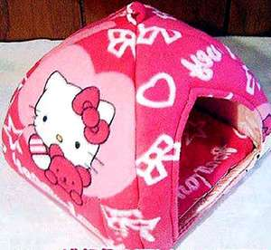 Hellokitty Cat Dog Pet Covered Sleeping Bed Bag us