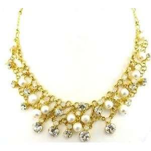 Sorrelli White Bridal Swarovski Crystal Necklace Jewelry