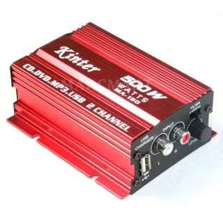 Mini Hifi Car Boats Home Stereo Digital Power Amplifier