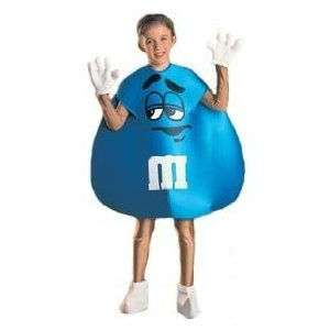 Rubies BLUE M&Ms Halloween Costume M&M Child Toddler Size 2   4 NEW
