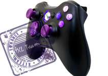 MODDED CONTROLLER PURPLE MOD GOW GEARS 3 BLACK OPS DROP SHOT