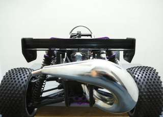 HPI BAJA 5B 5T SS CHROME HIGH FLOW TUNED PIPE EXHAUST