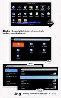 HD 1080p Smart IPTV TV Box MKV H.264 Network Media Player