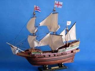 Golden Hind 30 wooden model ship Sir Francis Drake