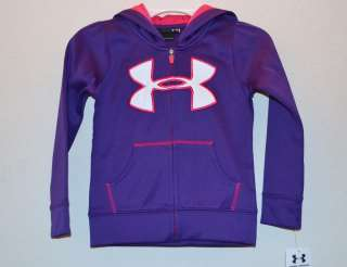 NWT Girls ★UNDER ARMOUR★ Hoodie Jacket @FULL ZIP@ New 2T $40