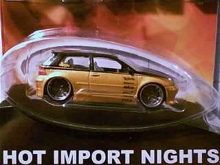 Hot Wheels VW GOLF Gold VOLKSWAGEN Hot Import Nights VW