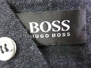 BOSS HUGO BOSS Mens Gray Check Long Sleeve Shirt Sz XL