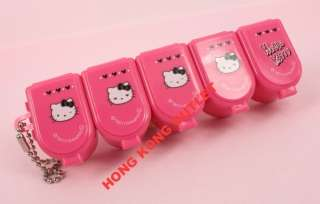 Hello Kitty Pill Box Pills Storage Case x5 Sanrio G28e