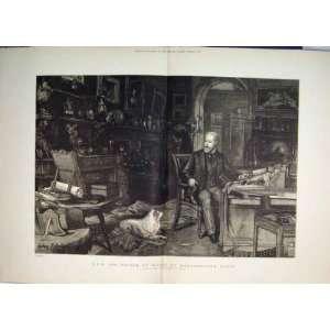 1886 Hrh Prince Wales Marlborough House Dog Fine Art