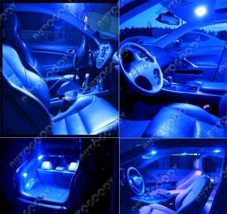 BLUE LED Lights Interior Package Deal for Mazda 6