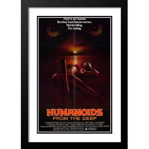 Humanoids from the Deep 20x26 Framed and Double Matted Movie Poster