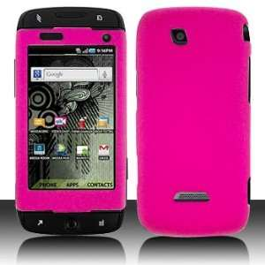 Samsung T839 Sidekick 4G Rubber Hot Pink Case Cover