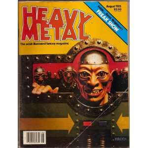 Heavy Metal 1982  March Heavy Metal Books