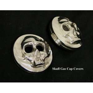 Skull Gas Cap Covers Automotive