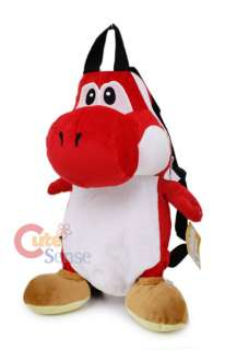 Nintendo Super Mario Red Yoshi Plush doll Backpack 2